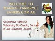 Manhattan dry cleaners- The only fast curtain cleaner of Adelaide