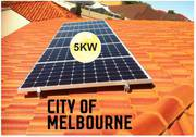 5kw Solar System: Save with Solar Rebates in Melbourne,  Victoria