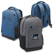 Custom Promotional Tirano Laptop Backpack by Vivid Promotions Australi